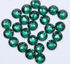 Стразы стекло (зеленые) SS4 (1440 шт)