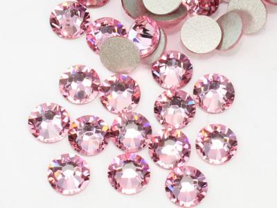 Стразы стекло (розовые) SS4 (1440 шт)