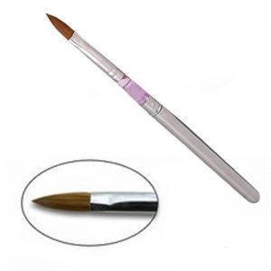 Кисть для акрила № 10 (металл ручка)