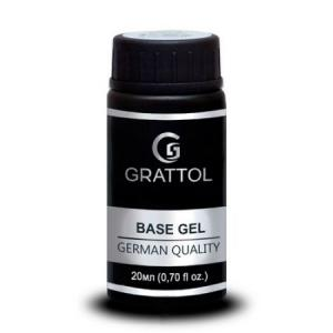 База каучуковая Grattol Rubber Base Extra Cremnium 20ml