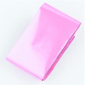 Фольга переводная матовая розовая 1м