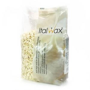 Воск ITALWAX горячий (пленочный) гранулы Белый шоколад 500гр