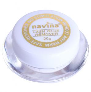 Кремовый ремувер для снятия ресниц Navina