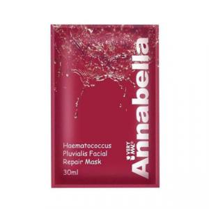 Маска для лица тканевая Annabella Haematococcus Pluvialis Facial Repair Mask