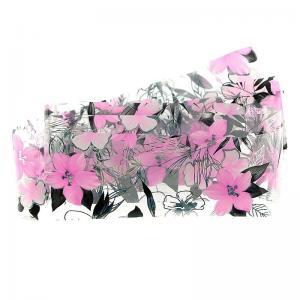 Фольга переводная цветочная 1м