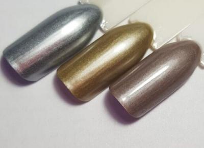 Металл-гель серебро 3г