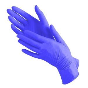 Перчатки нитрил MediOk (васильковые) L 100шт