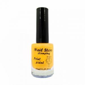 Лак для стемпинга NailStory, желтый-солнечный №13 11мл