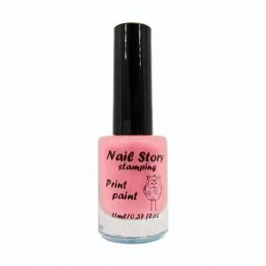 Лак для стемпинга NailStory, нежно-розовый №17 11мл