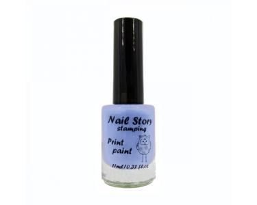 Лак для стемпинга NailStory, Пастель №7 11мл