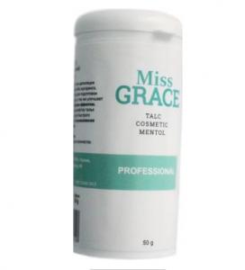 """Тальк косметический с ментолом Professional Miss Grace"""" 50гр"""""""