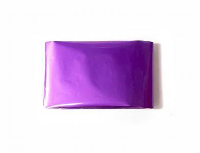 Фольга переводная матовая фиолетовая 1м