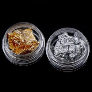 Фольга Поталь набор (золото, серебро)