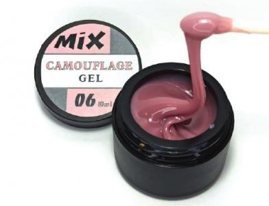 06 Camouflage Glitter Gel MIX 10ml