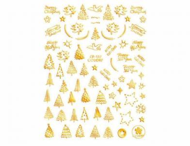 150СB Наклейка для дизайна Gold
