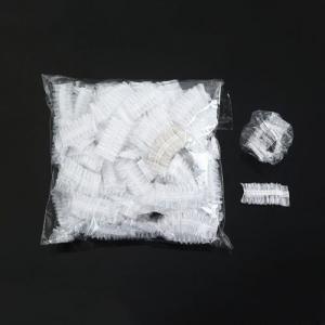 Шапочка полиэтиленовая прозрачная 100шт